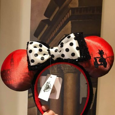 Italian Themed Minnie Ears