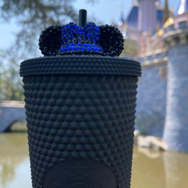 These Disney Straw Toppers