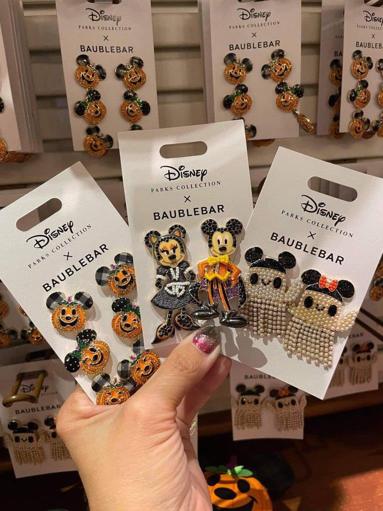 Disney Halloween BaubleBar Earrings