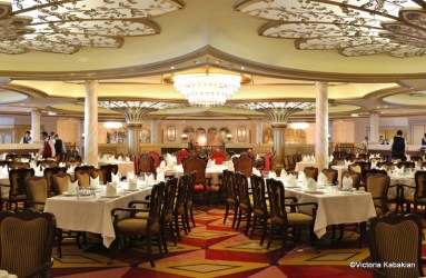 royal court disney fantasy cruise room dining line aboard guest lines