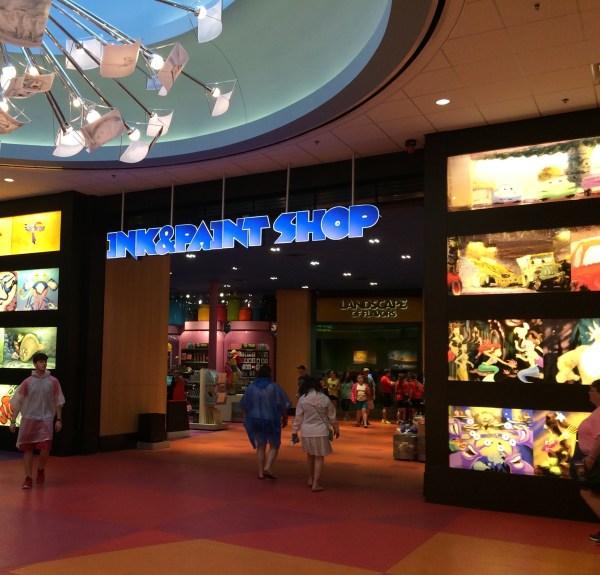 Disney World Art of Animation Food Court