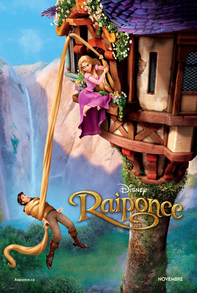 Raiponce Je Veux Y Croire : raiponce, croire, Tangled, Canadian, French, CHARGUIGOU