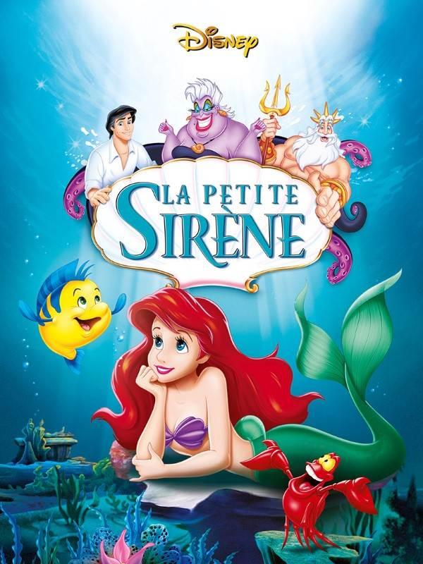 La Petite Sirene En Anglais : petite, sirene, anglais, Little, Mermaid, French, CHARGUIGOU