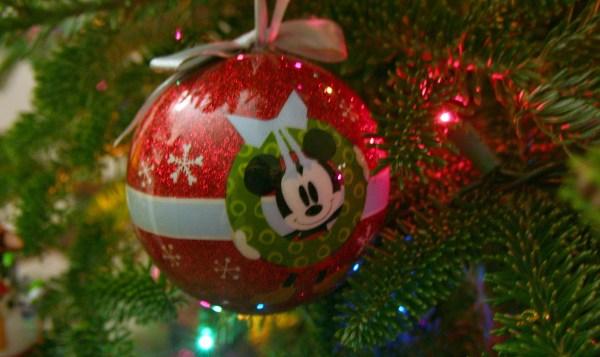 Disney Christmas Ornament