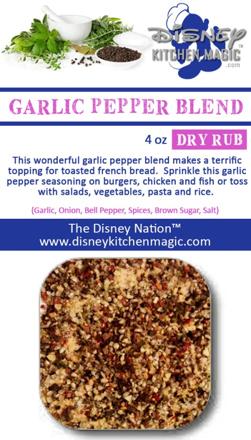 garlic pepper blend seasoning spices