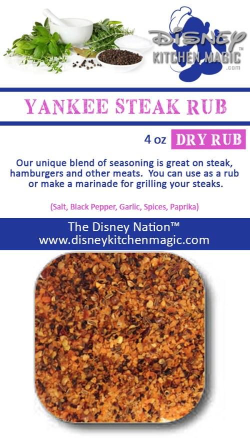 Yankee Steak Rub Beef Roast