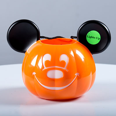 Mickey Mouse Light Up Pumpkin Bucket Disney Floral And Gifts