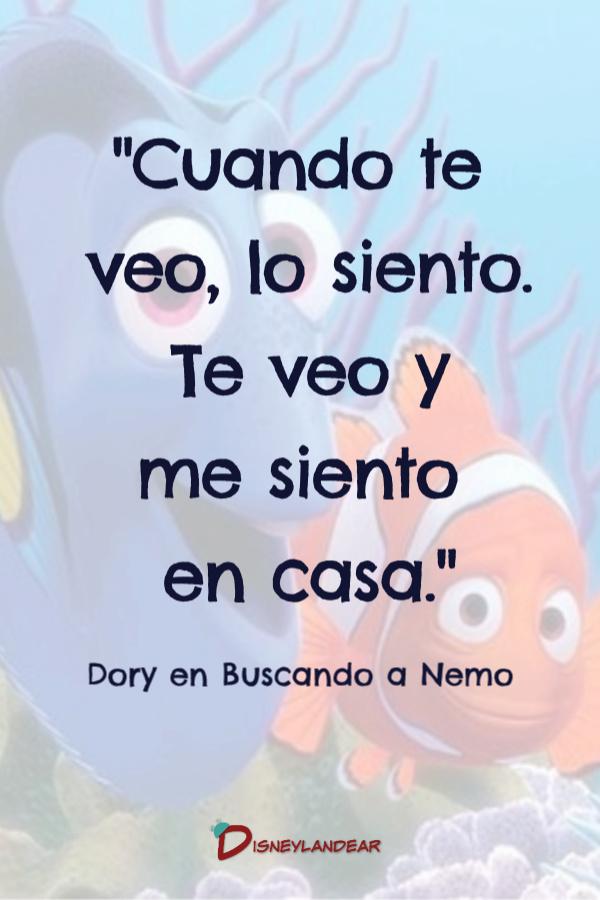 Frase de Buscando a Nemo