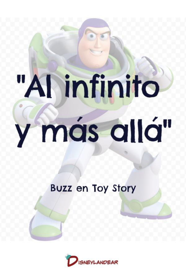 Frase Al Infinito y Más Allá de Toy Story