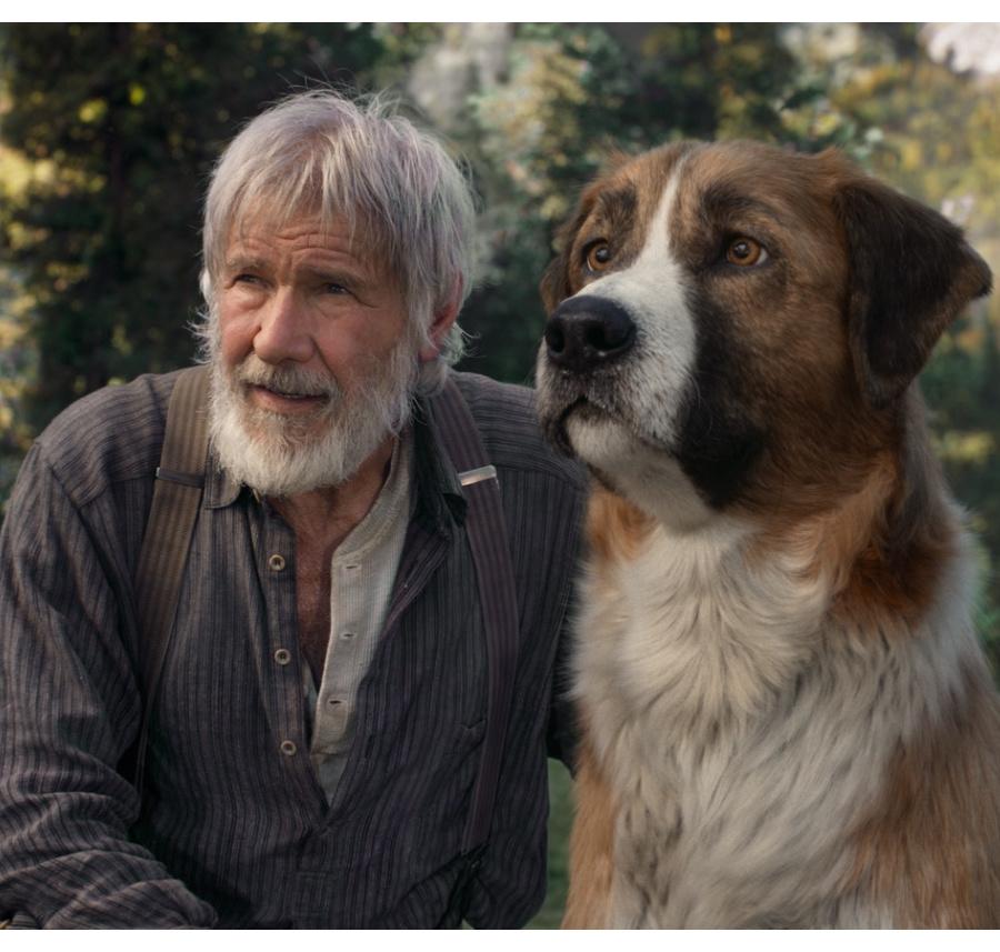 Harrison Ford y Buck