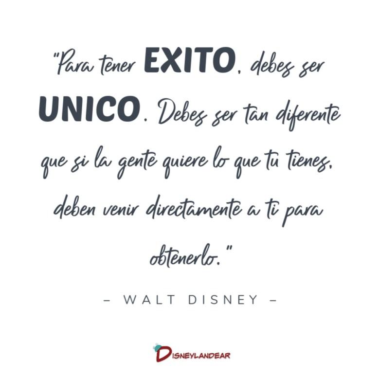 Frases de Walt Disney sobre el Exito en la Vida