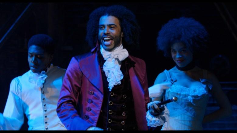 Daveed Diggs como Thomas Jefferson en Hamilton