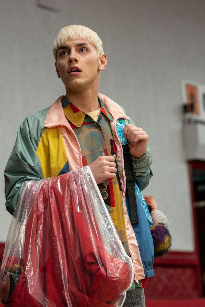 """Max Harwood como Jamie en la película """"Todos están hablando sobre Jamie"""""""