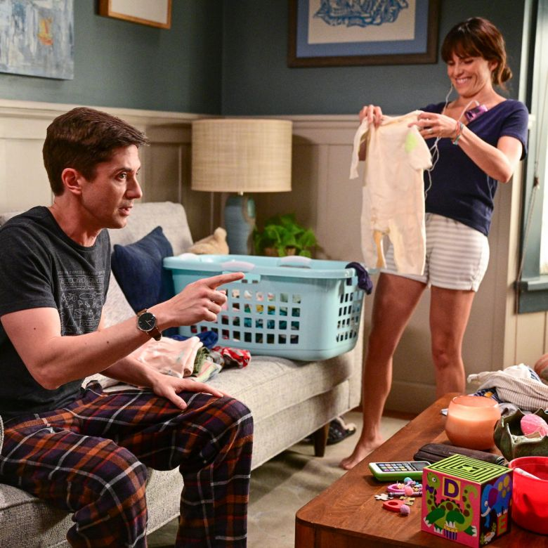 Marina y Tom en Home Economics