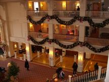 Inside Disneyland Hotel Paris