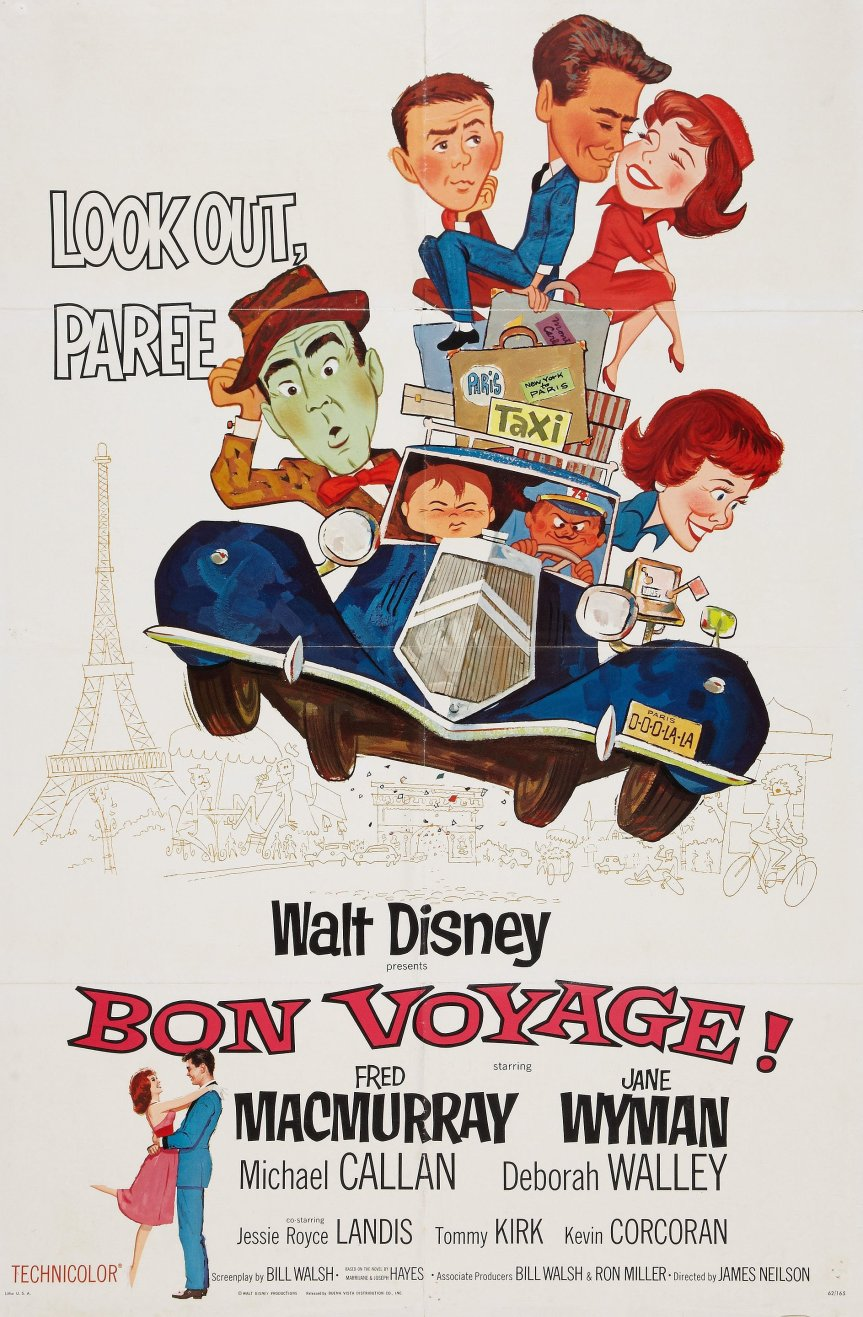 """Poster for the movie """"Bon Voyage!"""""""