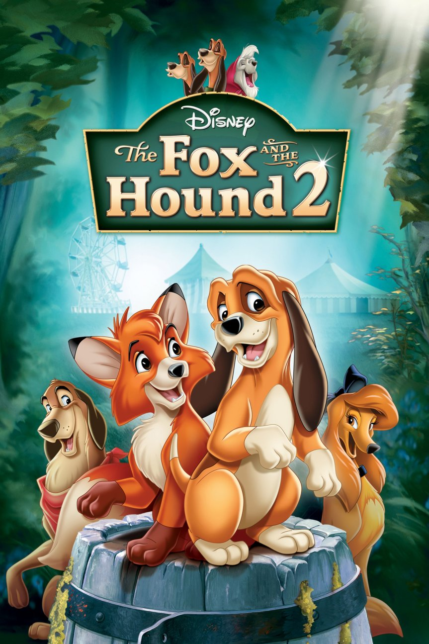 """Poster for the movie """"The Fox and the Hound 2"""""""