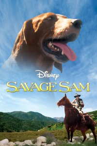 "Poster for the movie ""Savage Sam"""