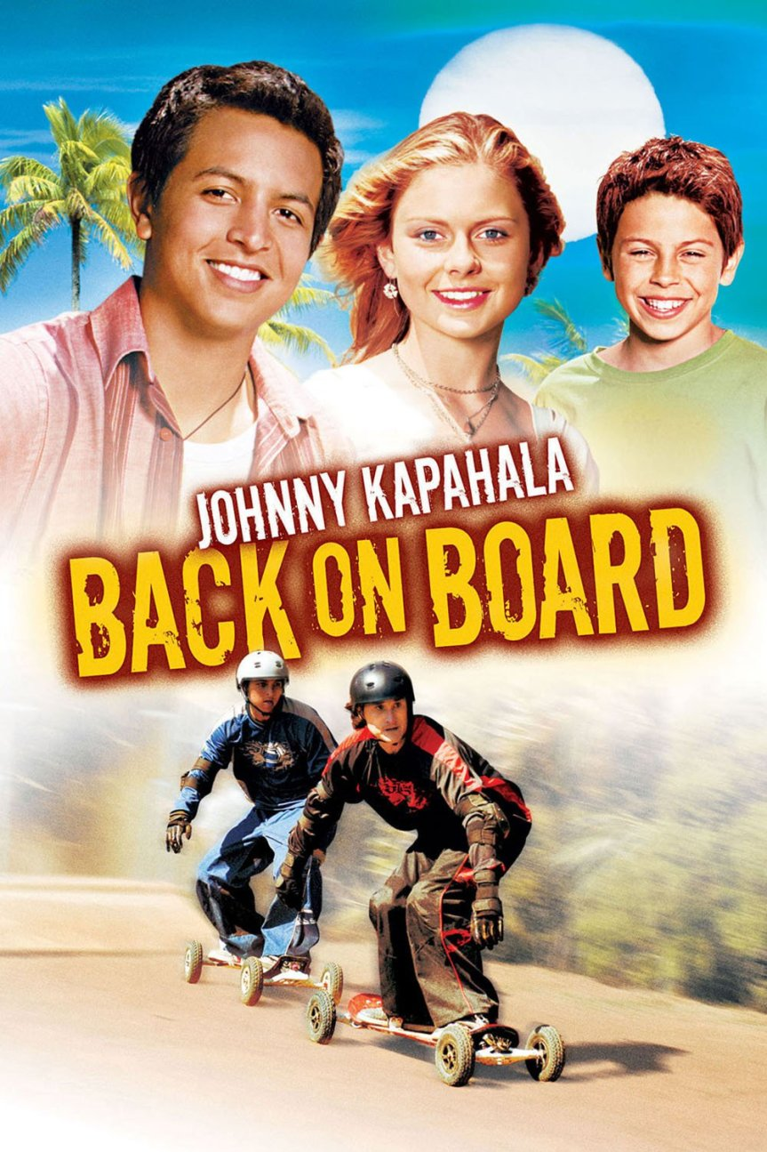 "Poster for the movie ""Johnny Kapahala - Back on Board"""
