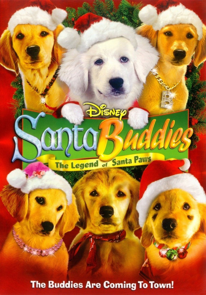 santa buddies disney movies list