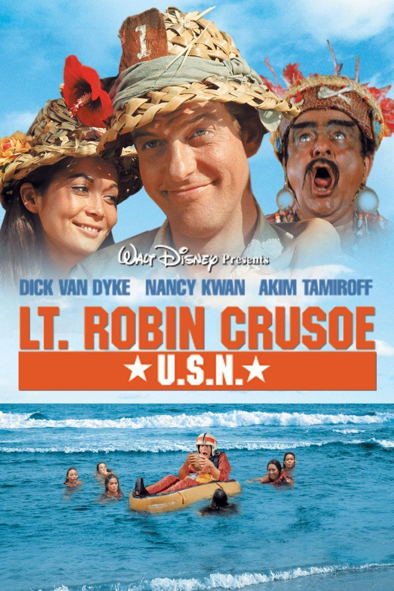 "Poster for the movie ""Lt. Robin Crusoe U.S.N."""