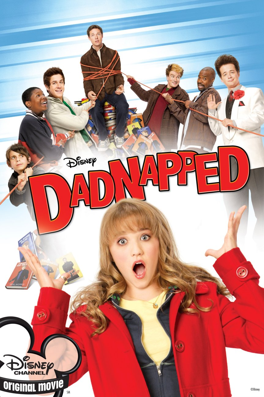 "Poster for the movie ""Dadnapped"""