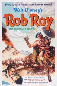 "Poster for the movie ""Rob Roy, The Highland Rogue"""