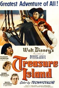 "Poster for the movie ""Treasure Island"""