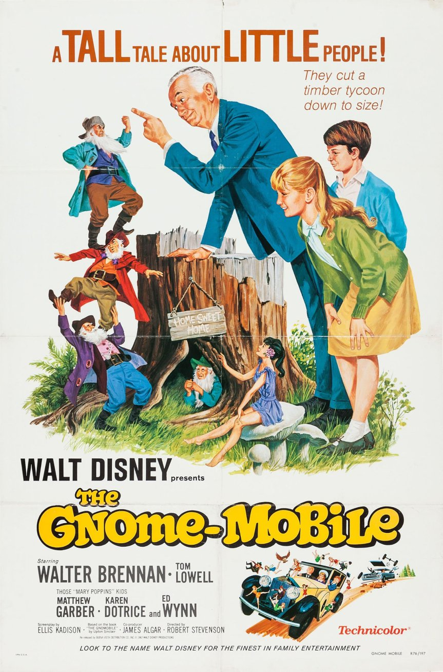 """Poster for the movie """"The Gnome-Mobile"""""""