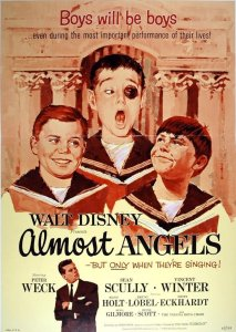 "Poster for the movie ""Almost Angels"""