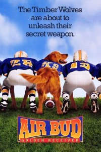 "Poster for the movie ""Air Bud: Golden Receiver"""
