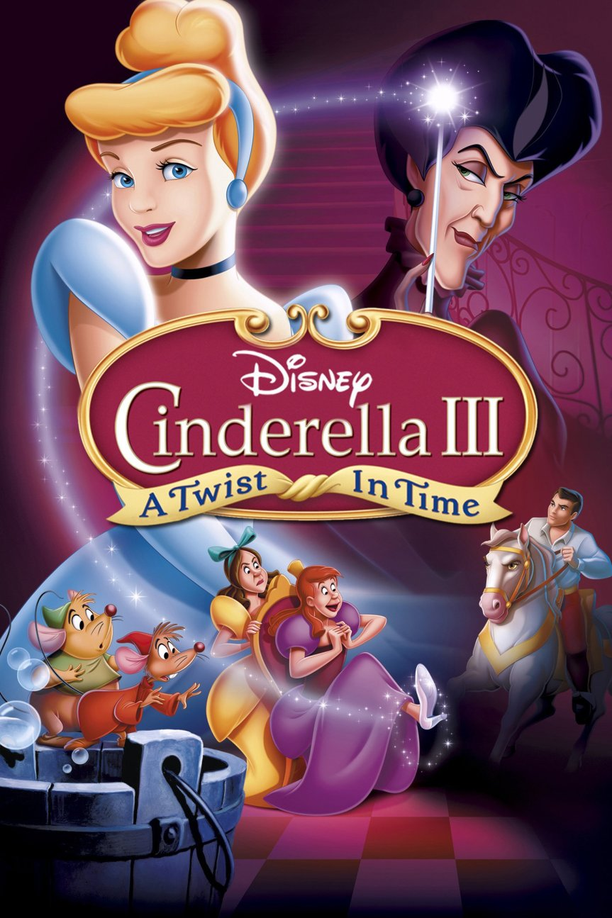 "Poster for the movie ""Cinderella III: A Twist in Time"""
