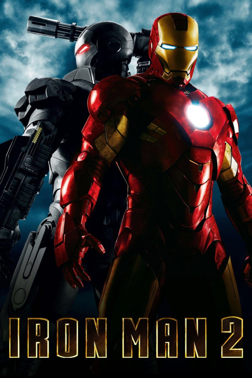 "Poster for the movie ""Iron Man 2"""