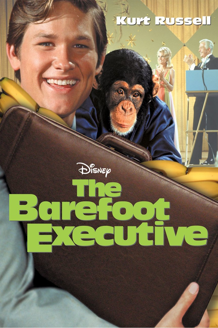 "Poster for the movie ""The Barefoot Executive"""