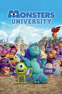"Poster for the movie ""Monsters University"""