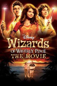 "Poster for the movie ""Wizards of Waverly Place: The Movie"""
