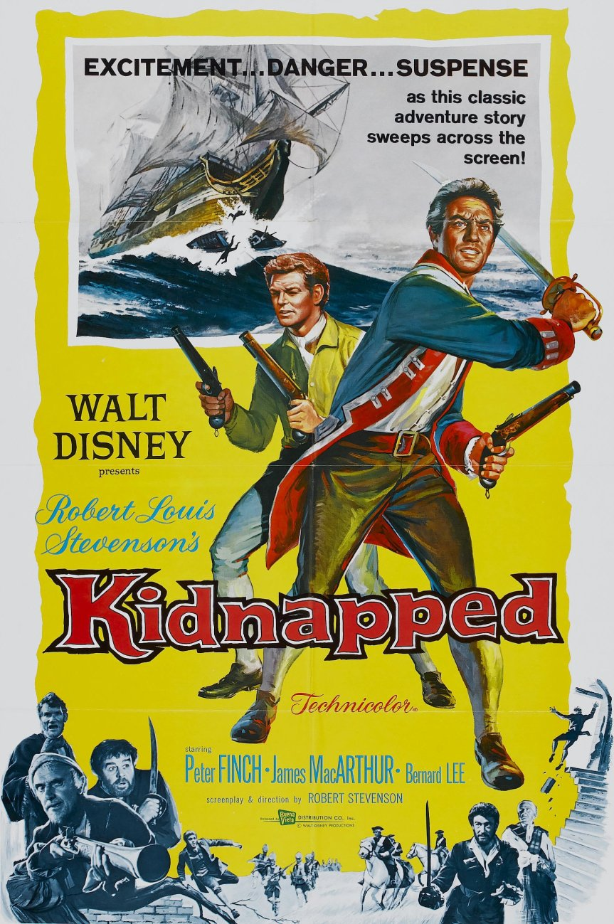 "Poster for the movie ""Kidnapped"""
