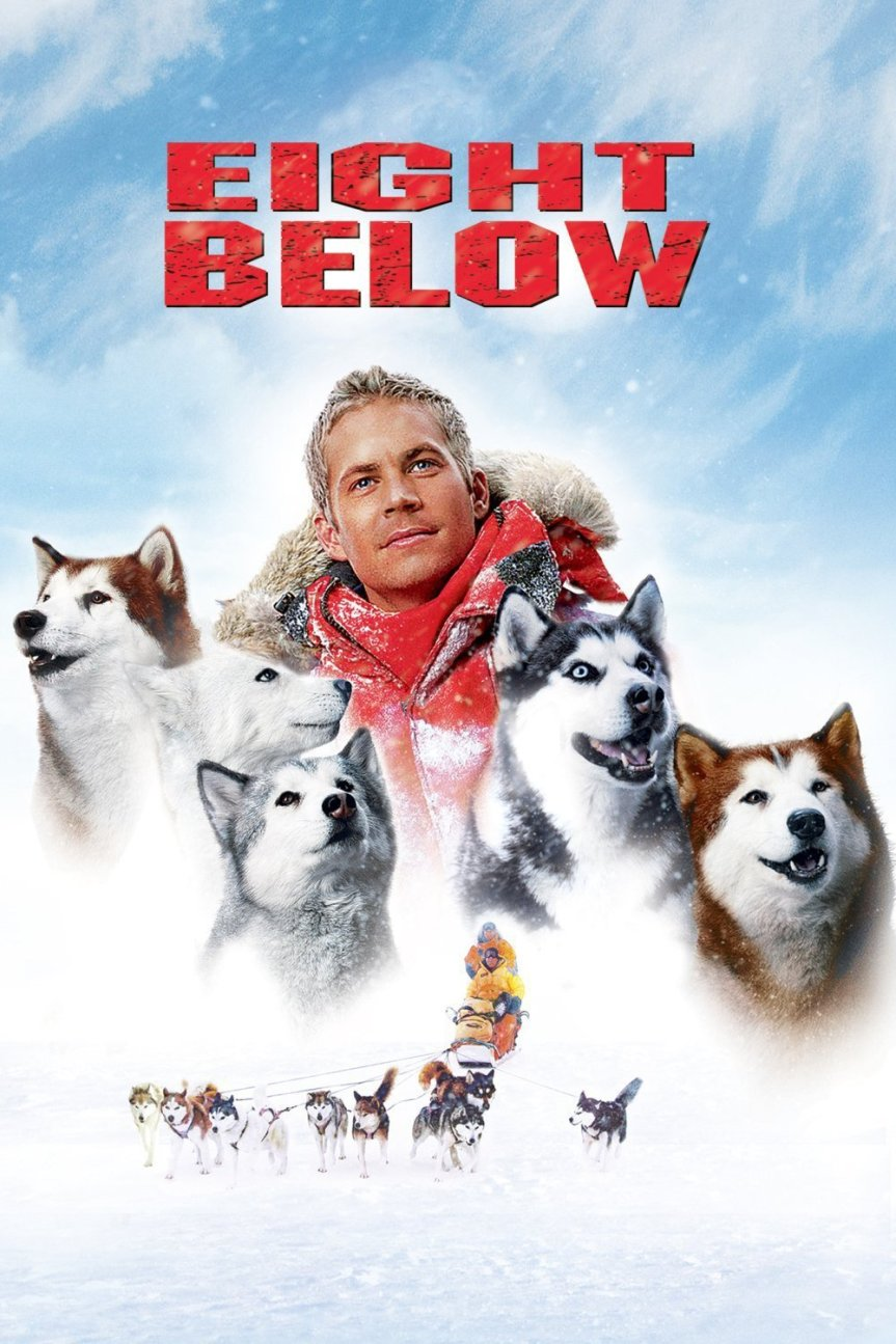 "Poster for the movie ""Eight Below"""