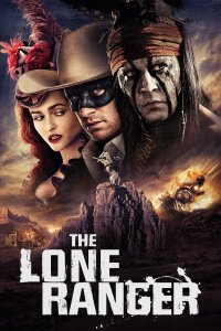 "Poster for the movie ""The Lone Ranger"""
