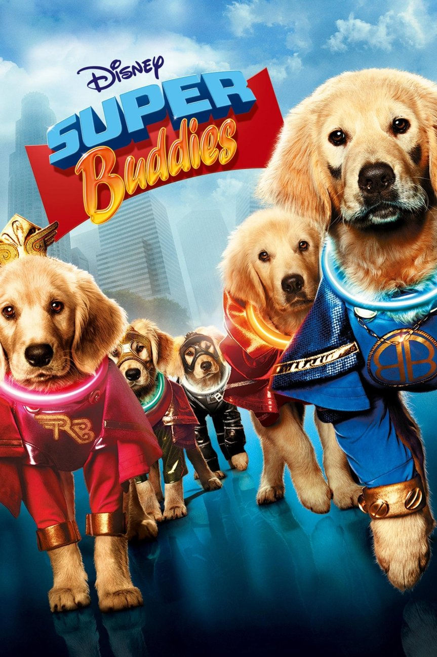 "Poster for the movie ""Super Buddies"""
