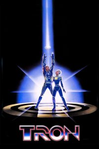 "Poster for the movie ""Tron"""