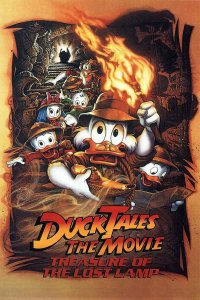 "Poster for the movie ""DuckTales: The Movie - Treasure of the Lost Lamp"""