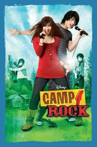 "Poster for the movie ""Camp Rock"""