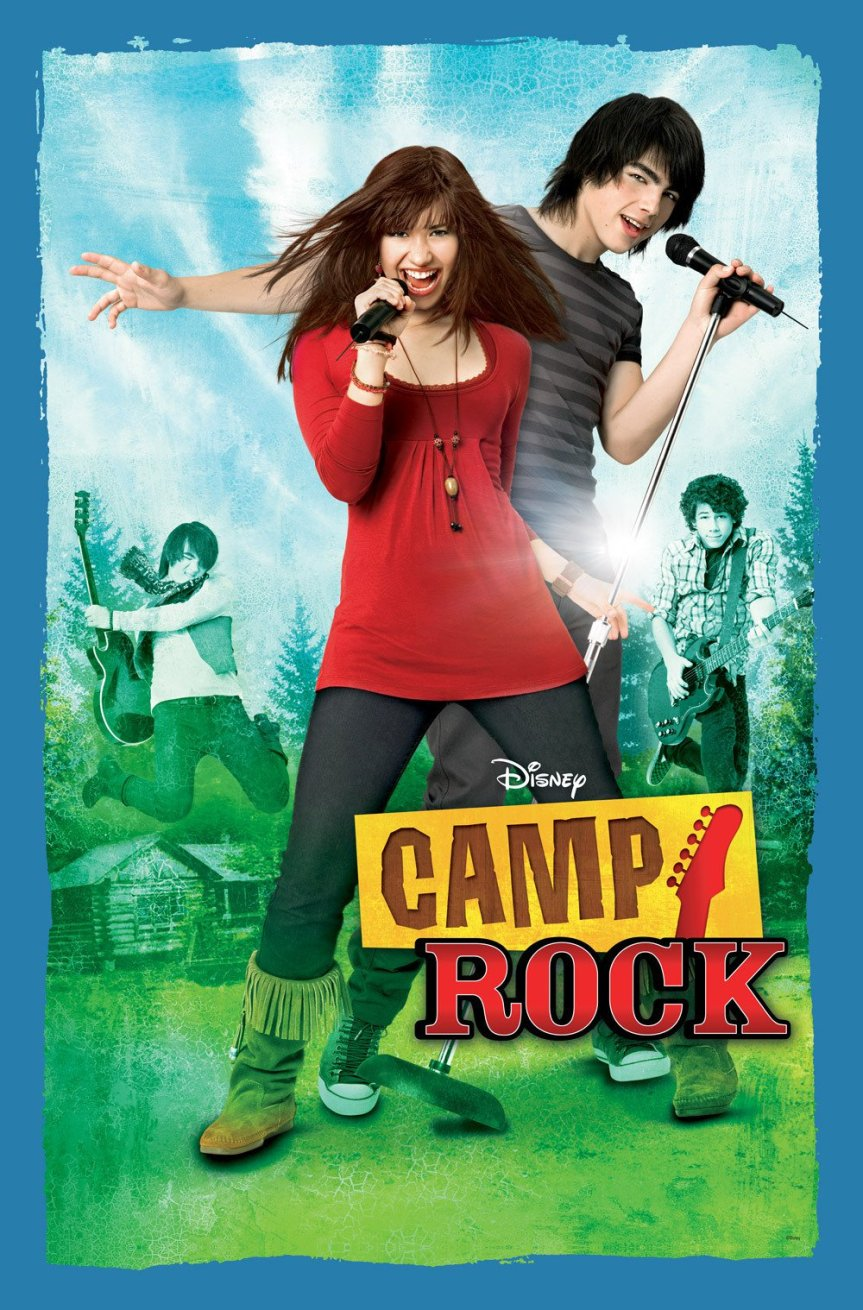 """Poster for the movie """"Camp Rock"""""""