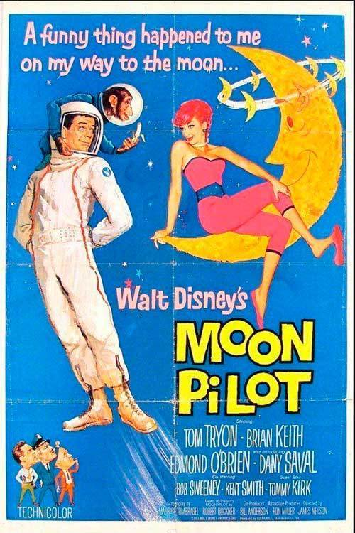 "Poster for the movie ""Moon Pilot"""