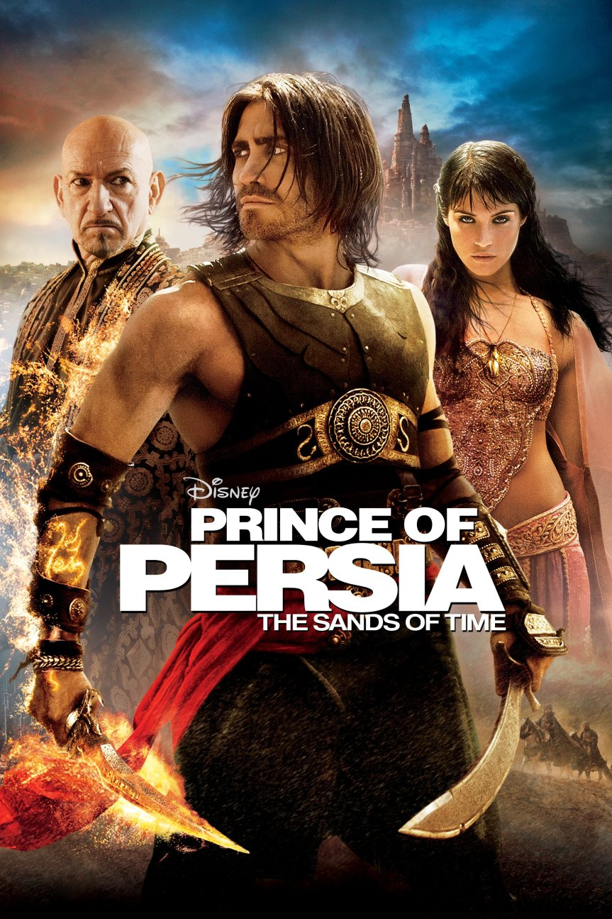 """Poster for the movie """"Prince of Persia: The Sands of Time"""""""