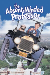 "Poster for the movie ""The Absent-Minded Professor"""