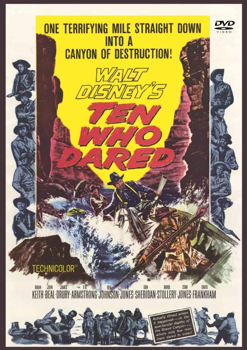 "Poster for the movie ""Ten Who Dared"""