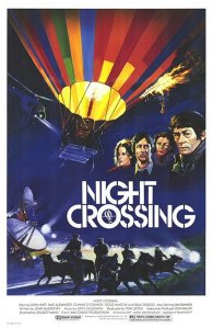 "Poster for the movie ""Night Crossing"""