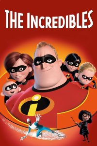 "Poster for the movie ""The Incredibles"""